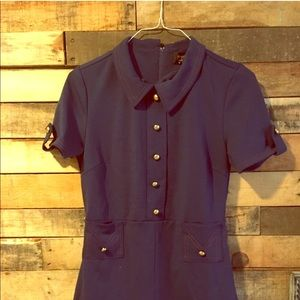 Vintage sailer style dress